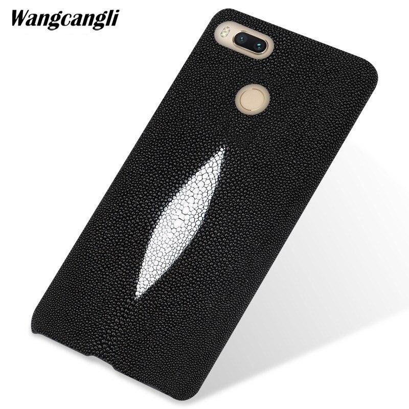 Personnalisé perle en cuir étui de téléphone pour xiaomi 5x cas perle demi-pack étui de téléphone portable mobile étui de téléphone pour xiaomi pocophone f1