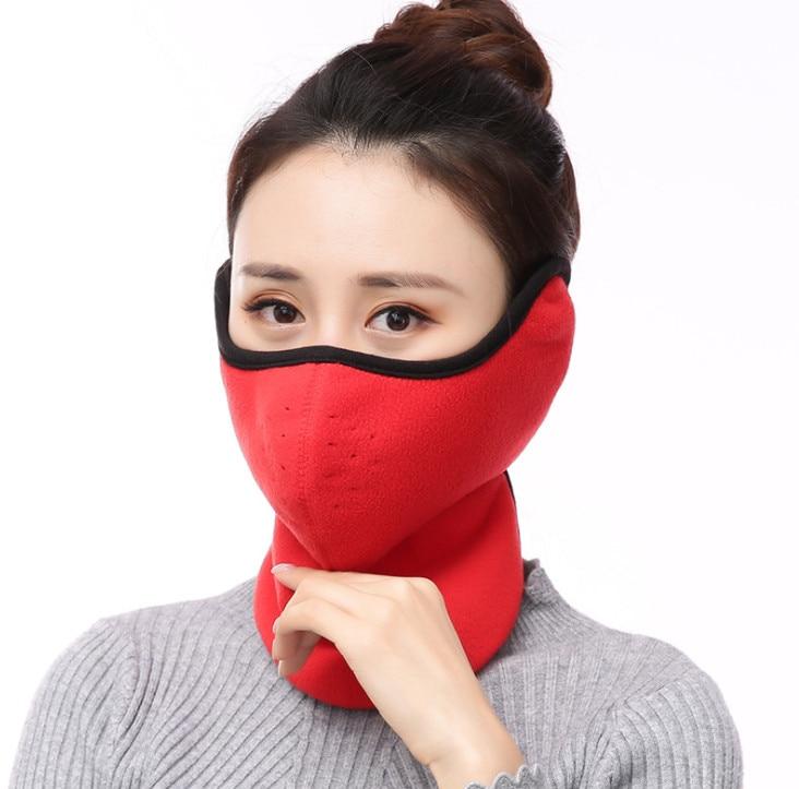 100 Stücke Winter Maske Frauen Ohrenschützer Neck Neue Ohrenschützer Staub-proof, Warm Und Kalt-proof Reiten Ohrenschützer
