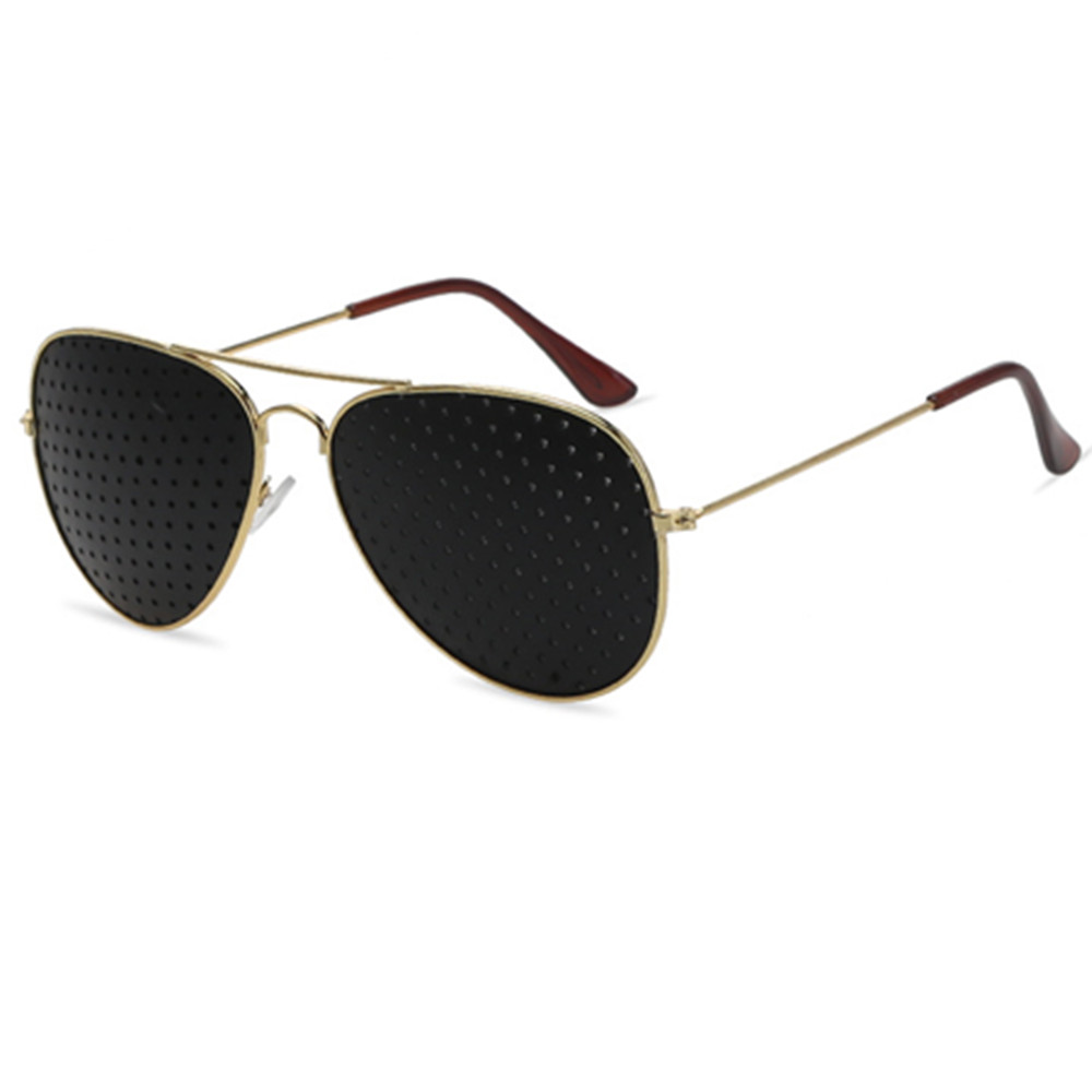 Lesebrillen Anti-myopie Stiftlochbrille Pin Loch Sonnenbrille Augen-übungs-sehvermögen Verbessern Naturheilkunde Vision Care Brillen Damenbrillen
