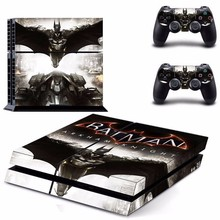 2015 Batman PS4 Sticker skin For Sony Playstaion 4 Game console controller Skin Sticker PS 4 accessories