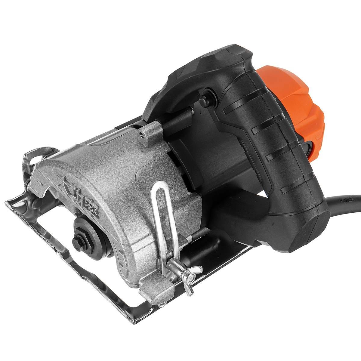 1180W moteurs de scie électrique 110mm lame 13000 tr/min haute vitesse bois métal portable Machine de découpe fil scie céramique marbre carrelage outil - 5