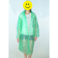 Disposable Rain Coat For Children Girl Raincoat Poncho Outdoor Cape De Pluie Regenjas Cloak Regenmatel Kids