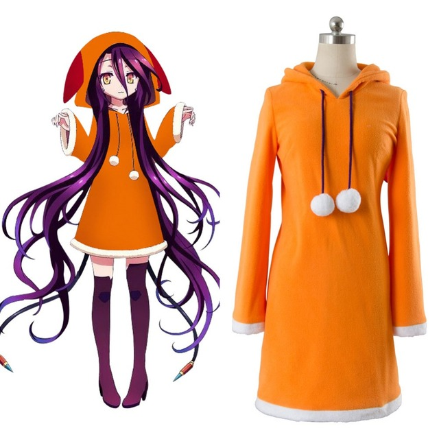 No Game No Life Cosplay Costume Zero Shuvi Dola Adult