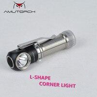 Amutorch AL1 XPL HD 1000LM L shape Corner LED Flashlight Aluminum alloy 1*18650
