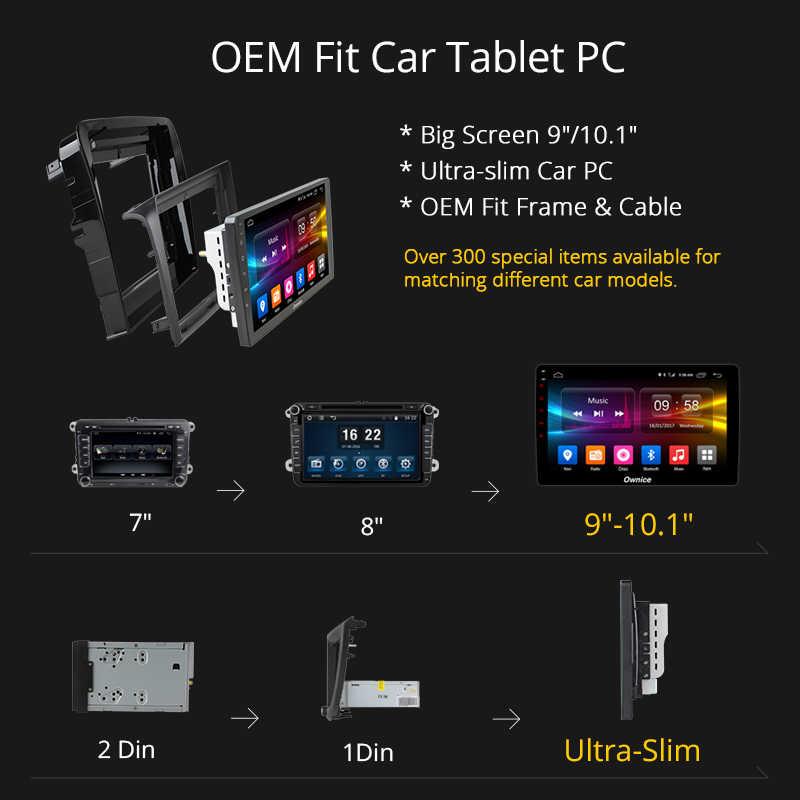 Ownice C500 + G10 Android 8.1 Auto Dvd-speler voor Mazda 6 Ruiyi 2006 2007 2008 2009 2010-2015 GPS Navigatie Octa Core 4G LTE