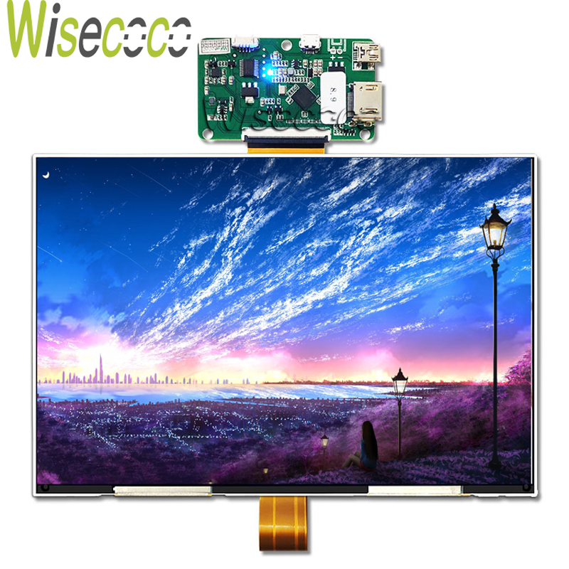 Wisecoco 8.9 inch 2K LCD Module 2560x1600 LCD Screen MIPI to HDMI Board DIY Projector Kit 3D Printer DLP SLA Panel TFTMD089030