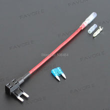 Fuse TAP Adapter Mini (ATM APM) Blade Fuse Holder 32V for Automotive Car Truck Motorcycle SUV