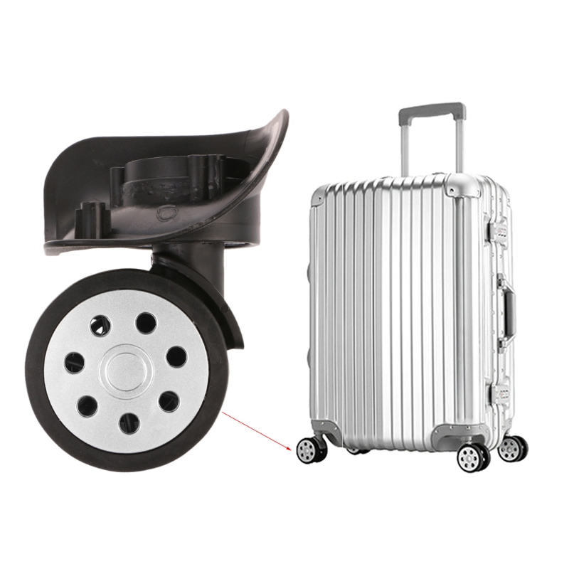 4PCS Luggage Wheels For Suitcases 360 Swivel Wheel Replacement Suitcase Wheel Repair
