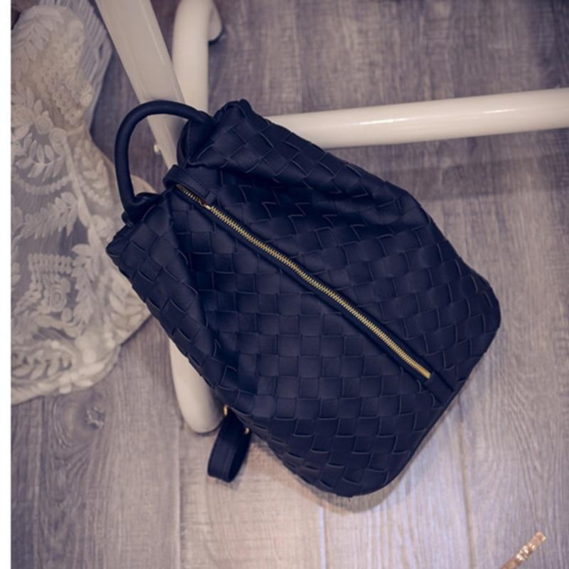 2015  New Fashion PU Leather Backpack Famosa Marca De La Mujer Brand Backpacks Latest School Bag Top Quality Travel famosa nancy