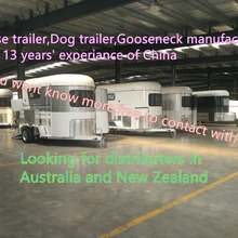 Горячая Распродажа трейлер для лошадей-2 трейлер для лошадей класса люкс поставщик из Китая