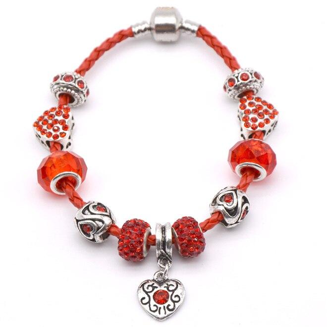 925 Sterling Silver bracelet ,16-23CM 3MM Snake Chain fit European Beads Pandora bracelet jewelry for women charm bracelet