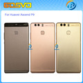 Back battery cover rear door case for huawei P9 back housing with Fingerprint flex cable Power Volume Button EVA-L09 EVA-AL00