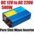 Inversor de potência Do Carro conversor de Onda Senoidal Pura 500 W Inversor DC 12 V para AC 220 V best selling 50 HZ
