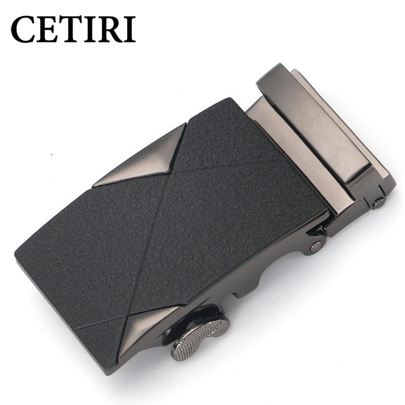 CETIRI Designer Frosted Scratch-resistant Belt Buckle For 3.5 Cm Width Belts Male Metal Slider Adjustable Belt Buckles Head