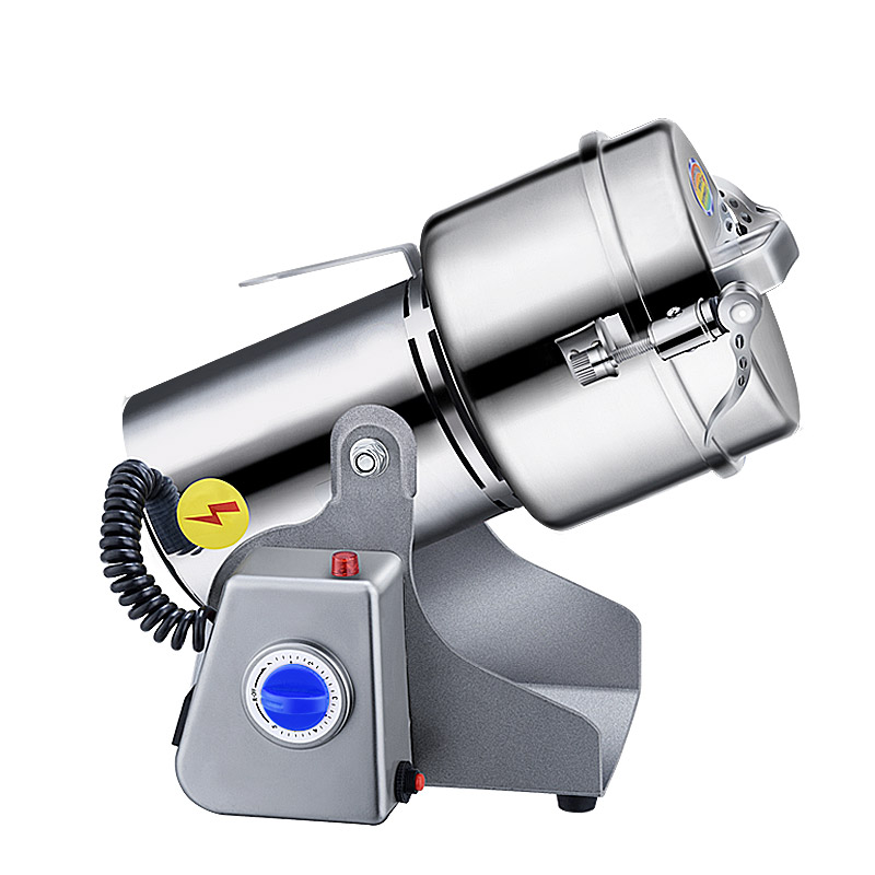 800g stainless steel Grains grinder Household electric Coffee mill Superfine Powder machine Grinding machine household stainless steel medicinal powder broken machine small superfine grinder whole grains bean milling blender