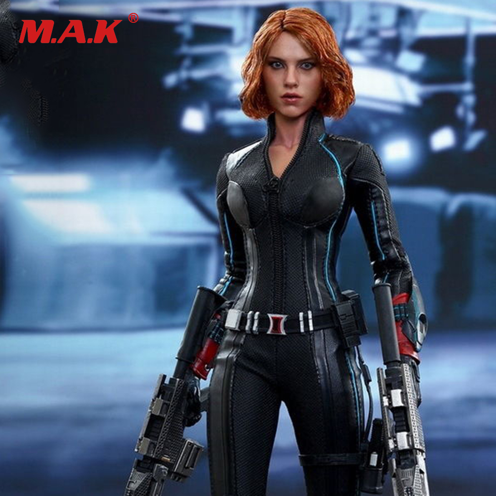MMS288 1/6 Black Widow 4.0 Action Figure Captain America Avengers Age of Ultron HT Collection Figure Models 1 6 scale avengers age of ultron wanda scarlet witch full set action figure war version for collections