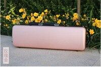New 4 4 Violin Case Carbon Fiber Strap Hard Case Gold Yinfente Support 150kg