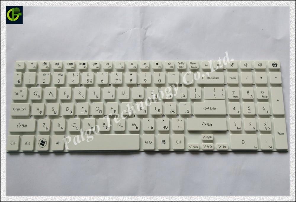 Russian RU Keyboard for 0KN0-7N1RU21 KB.I170A.409 MP-10K23A0-6981 MP-10K23SU-6981 MP-10K23T0-6981 white чехол для бокса размеры 100 200 780 800 thule 6981