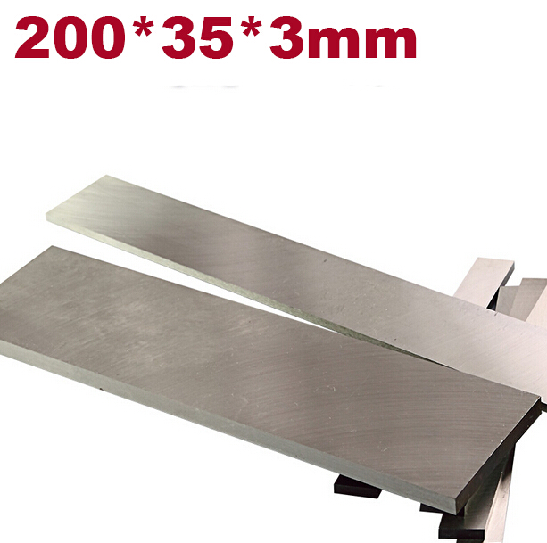 W4241  HIGH speed steel HSS 200x35x3mm  HRC60-62 Heat treatment steel Diy knife blade material famosa nancy