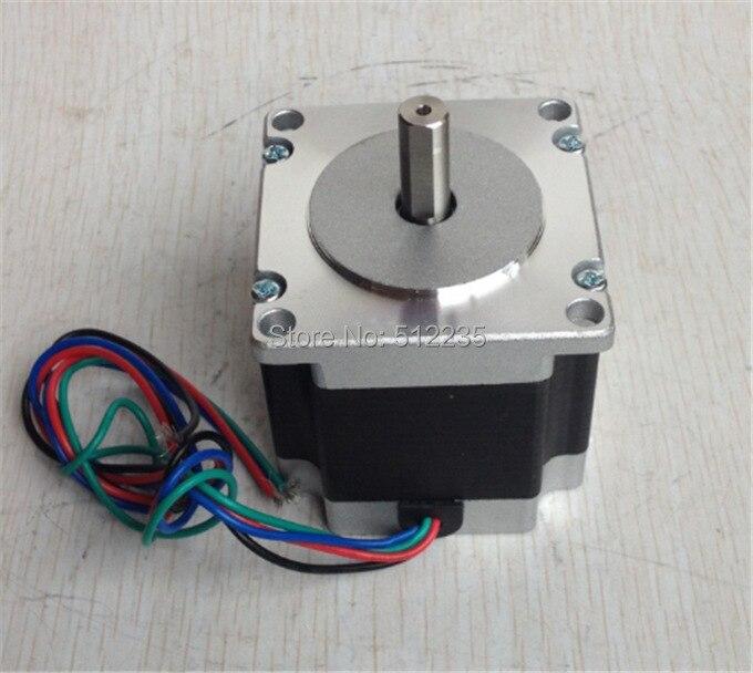 bdc6f369e02 Frete grátis 23HS5628 eixo 6.35mm eixo 4-lead Nema 23 Stepper 2.8A do motor  57 do motor ISO CNC Laser Moer Foam Plasma corte
