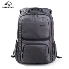 Kingsons ks3049w stoßfest laptop rucksack männliche hochwertigen studenten notebook taschen nylon bagpack für männer mochila