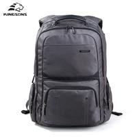 Kingsons KS3049W Shockproof Laptop Backpack Male High Quality Student Notebook Bags Nylon Bagpack For Men Mochila