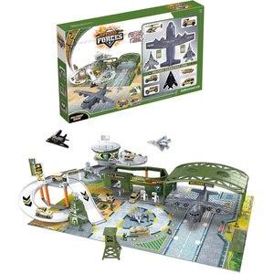Набор игрушечных наклеек для мальчиков, имитация военных боевых действий, солдат, армейский полк, самолет, модель, сборка, подарок