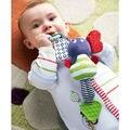 Traqueteos del bebé Infantil Al Por Mayor Niños Música Elefante Colgante Mano Cama Cochecito de Muñecas Suaves Juguetes Educativos Sonajeros Mordedor