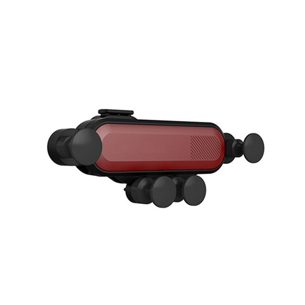 Vehemo автомобильный вентиляционный многоцветный Автомобильный держатель для телефона gps Держатель HUD дизайн универсальные, для салона автомобиля автомобильный держатель - Цвет: Melbourne Red