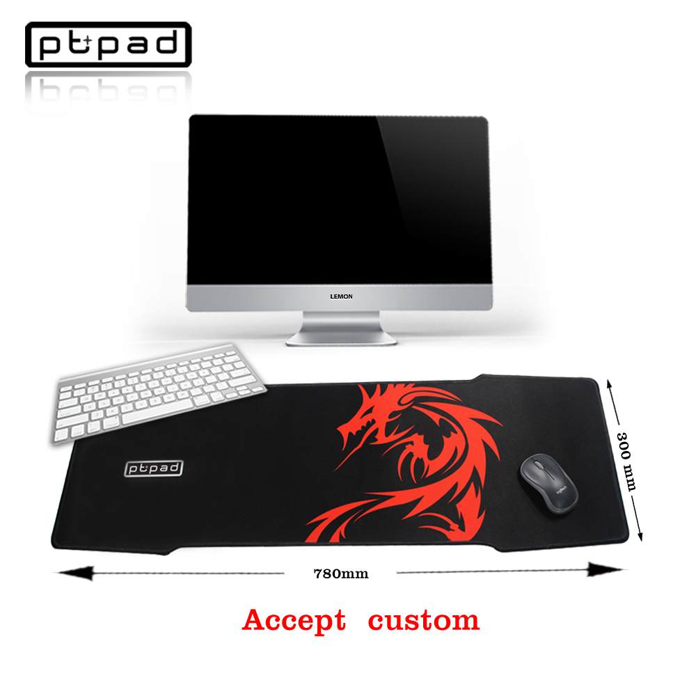 pbpad Large mouse pad 780*300mm speed Keyboard Mat mousemat Gaming mouse pad accept custom for game player Desktop PC Computers