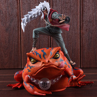 Naruto Shippuden Toys Jiraya Jiraiya / Gama Bunta Action Figure Naruto PVC Collectible Model Toy