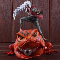 Naruto Shippuden Toys Jiraya Jiraiya / Gama Bunta Action Figure Naruto PVC Collectible Model Toy