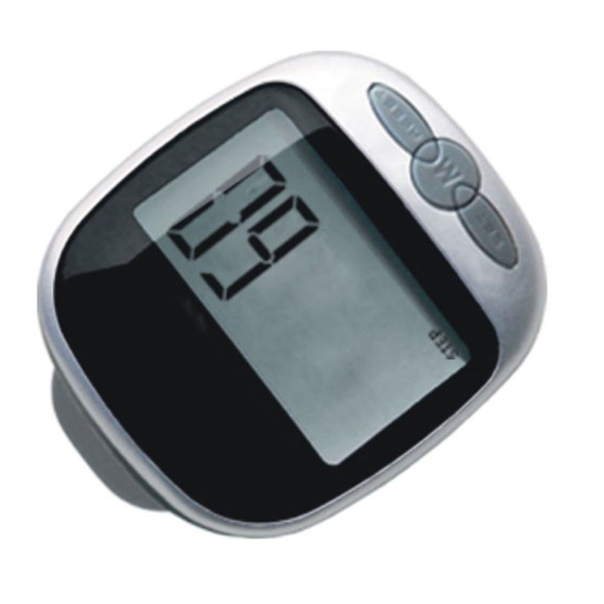 Premium Black Waterproof LCD Step Calories Pedometer Walking Distance font b Calculation b font Tracker Multi