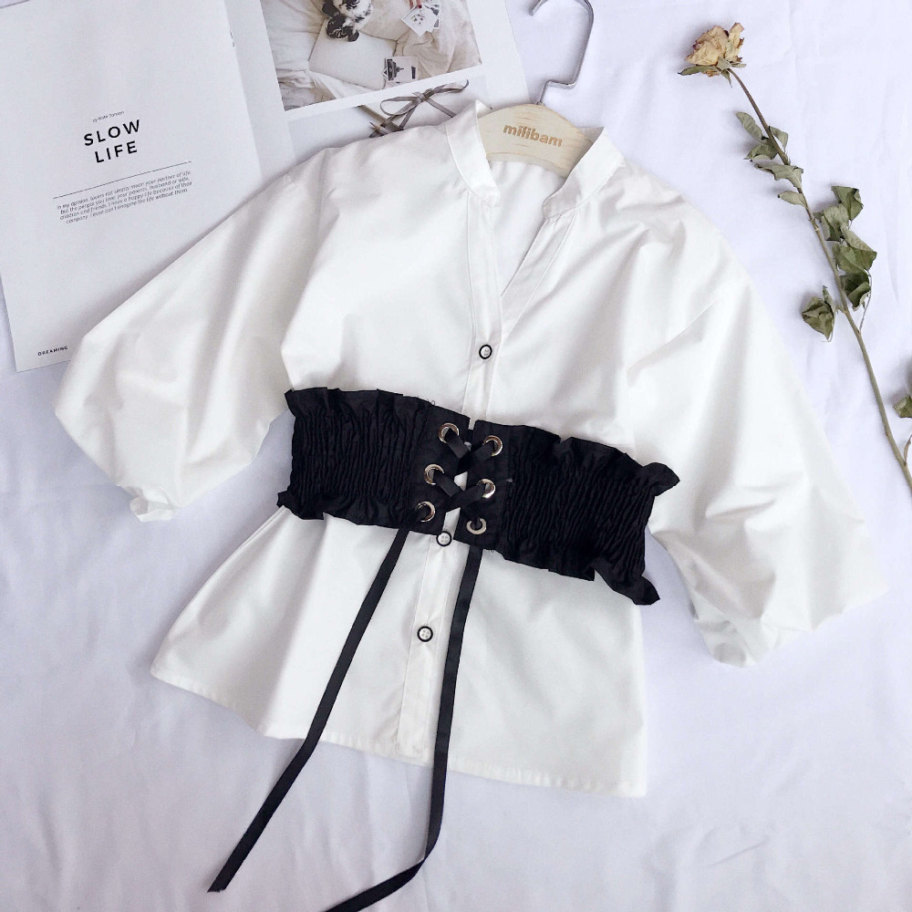 2019 autumn girl long t-shirt+vest kids suit 2pcs per set