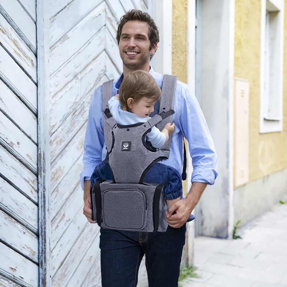 360 All in One Ergonomic Baby Carrier Multi Position Soft Sling Baby Travel Bag for Carrying Bottles Diapers wet tissueToys