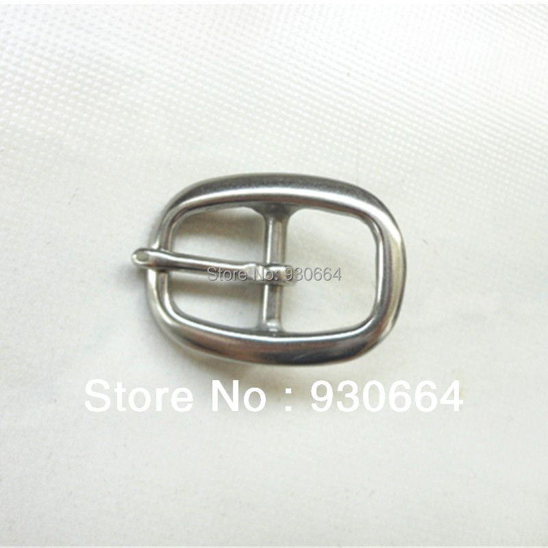 Stainless Steel Pin Buckle Leather Craft Buckle  Inside Width 21mm 20 Pieces/Lot