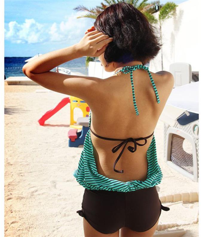 Terno de Banho Qualidade Adolescentes Swimwear One-pieces Adorável