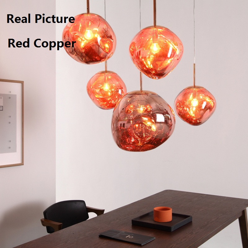 High Replica Suspension Design Lava Pendant LED Lights Dining Room Lampshade Lamps Light Hanging Modern PVC lamparas abajur