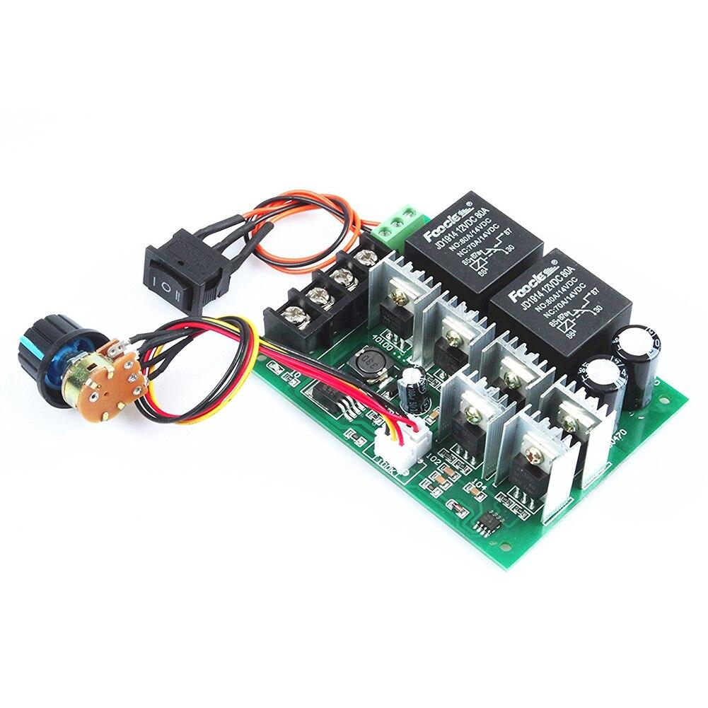 pwm speed controller PWM electronic governor 40A DC 10V-50V 12V / 24V / 36V / 48V Brushed DC motor controller Maximum Power of kbs48101x 40a 24 48v mini brushless dc controller