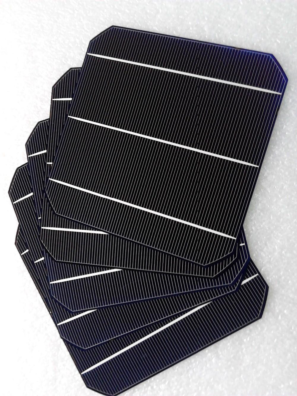 100pcs 20 4 efficiency 6x6 Monocrystalline solar cells