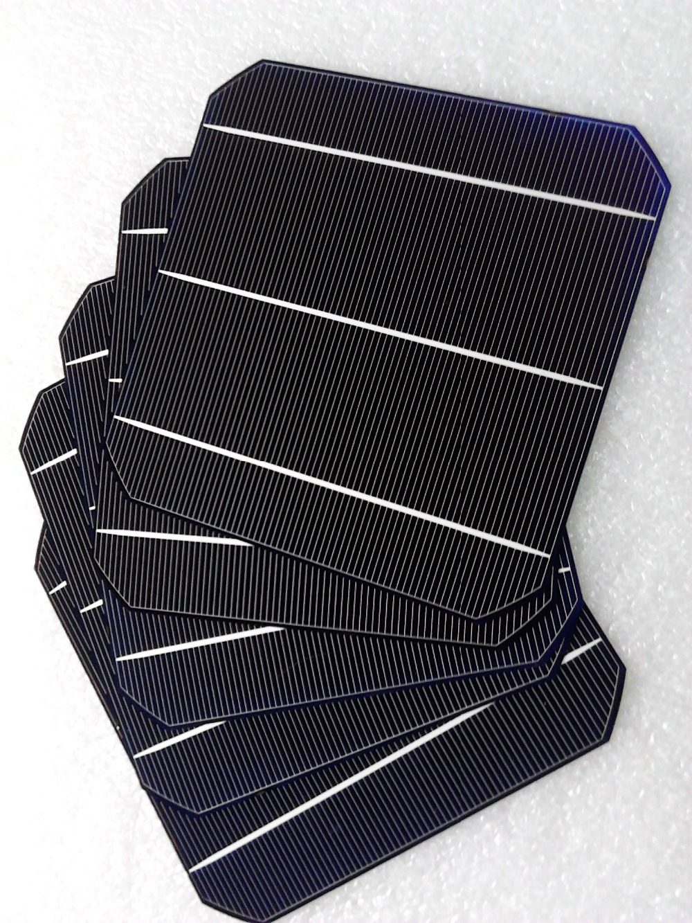 100pcs 20.4% Efficiency 6x6 Monocrystalline Solar Cells