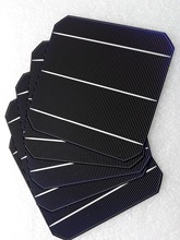 100pcs 20.4% efficiency 6×6 Monocrystalline solar cells