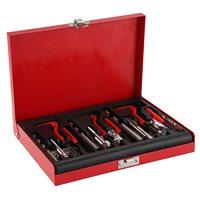 88pcs Car Pro Coil Drill Tool Metric Thread Repair Insert Kit M6 M8 M10 for Helicoil Car Repair Tools Coarse Crowbar