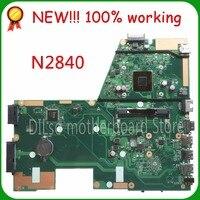 SHUOHU X551MA For ASUS X551MA Laptop Motherboard N2840U X551MA Motherboard 90NB0480 R00100 REV2 0 100 Tested