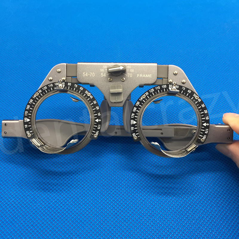 Best Professional Titanium optical trial frame optometry instruments optometry optician fully adjustable trial frame optical trial lens frame trial frames tf4856p