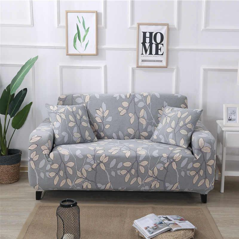Европейский Стиль Цветочный чехол для дивана плотно обёрточная универсальная тянущийся чехол для дивана кресло секционные кушетки протектор мебели