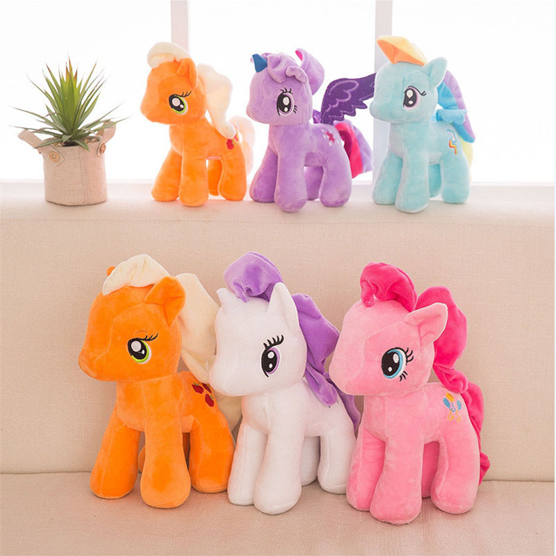 15/25cm Plush Animal <font><b>Unicorn</b></font> Horse Stuffed Animals <font><b>Toys</b></font> Baby Infant <font><b>Girls</b></font> <font><b>Toys</b></font> Birthday Gift Rainbow licorne image