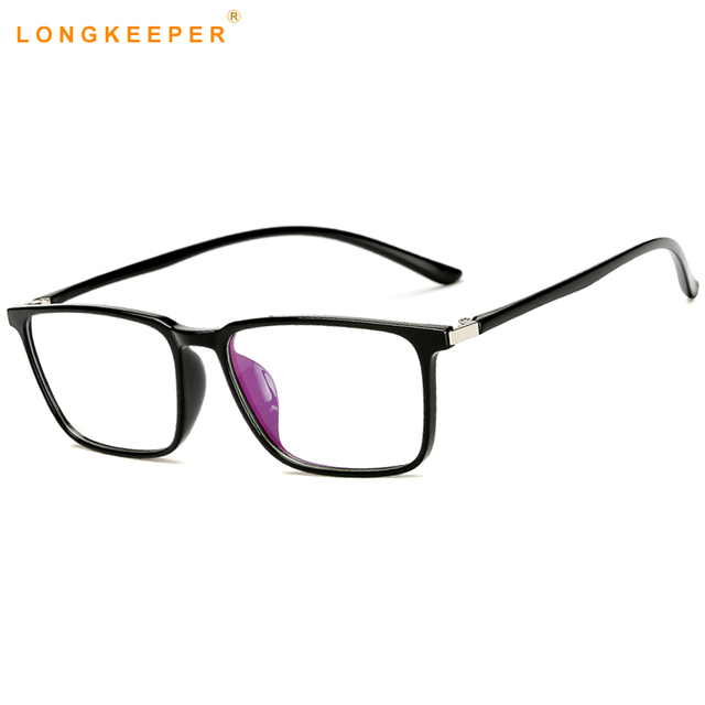 4531cdbde1 LongKeeper Fashion Superlight TR90 Eyeglasses Frame Men Women Optical  Square Glasses Frame Spectacle Top Quality Eyewear AM11758