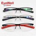 Polarized UV400 sunglasses clip on alloy optical frame high quality fashion design unisex myopia or presbyopia eyeglasses 7386