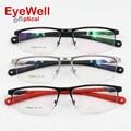 UV400 gafas de sol polarizadas clip de aleación de la miopía del marco óptico de alta calidad de diseño de moda unisex o lentes de presbicia 7386